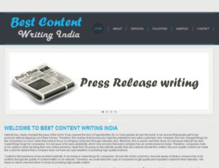 bestcontentwritingindia.com screenshot