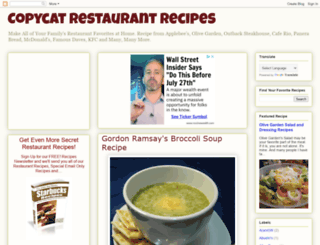 bestcopycatrestaurantrecipes.blogspot.com screenshot