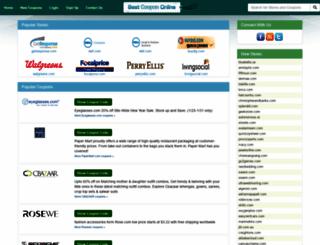 bestcoupononline.com screenshot