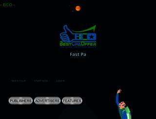 bestcpaoffer.com screenshot