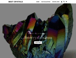 bestcrystals.com screenshot