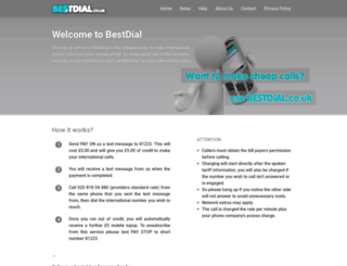 bestdial.co.uk screenshot