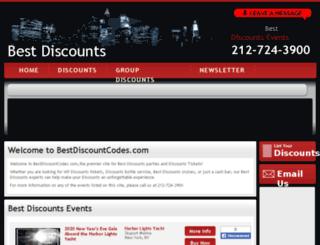 bestdiscountcodes.com screenshot