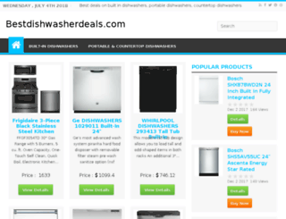 bestdishwasherdeals.com screenshot