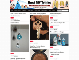 bestdiytricks.com screenshot