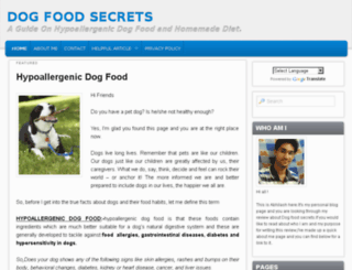 bestdogfoodsafety.com screenshot
