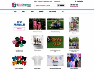 bestdressedchild.com screenshot