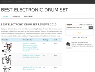bestdrumsetreviews.net screenshot