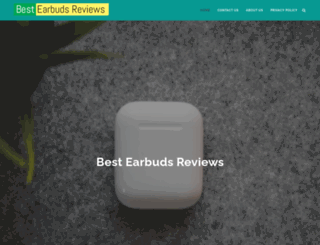 bestearbudreviews.com screenshot