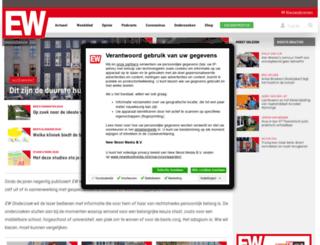 bestebanen.elsevier.nl screenshot