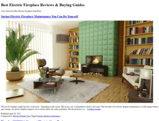 bestelectricfireplaces.net screenshot