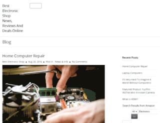 bestelectronicshop.info screenshot