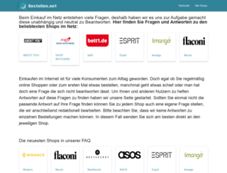 bestellen.net screenshot