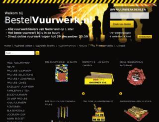 bestelvuurwerk.nl screenshot