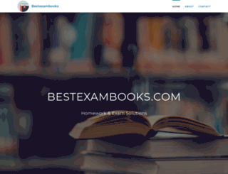 bestexambooks.com screenshot