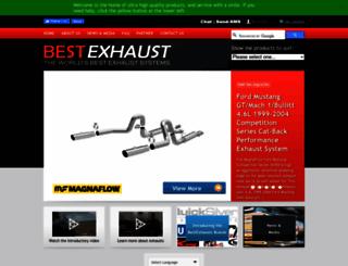 bestexhaust.com.au screenshot