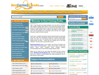 bestfantasybooks.com screenshot