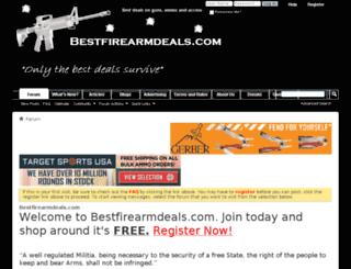 bestfirearmdeals.com screenshot