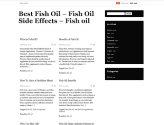 bestfishoils.wordpress.com screenshot