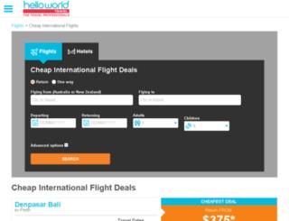 bestflights.com.au screenshot
