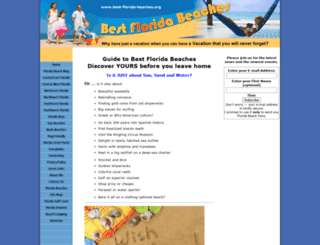 bestfloridabeaches.com screenshot