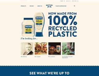 bestfoods.com screenshot