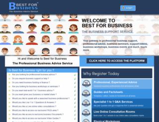 bestforbusiness.com screenshot