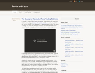 bestforexindicators.wordpress.com screenshot