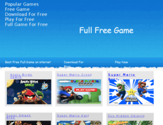 bestfreegame.webstarts.com screenshot