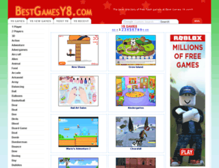 bestgamesy8.com screenshot