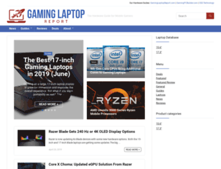 bestgaminglaptop.net screenshot