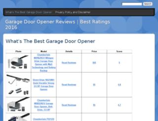 bestgaragedooropener.drupalgardens.com screenshot