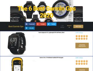 bestgarmingps.com screenshot