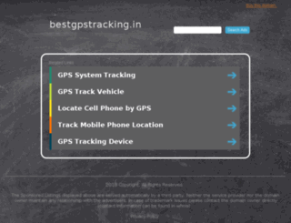 bestgpstracking.in screenshot