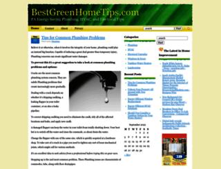 bestgreenhometips.com screenshot