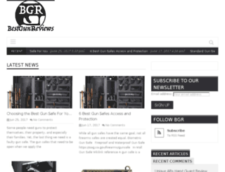 bestgunreviews.com screenshot