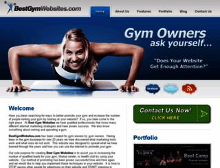 bestgymwebsites.com screenshot