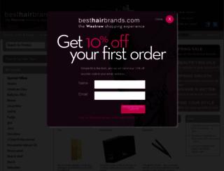 besthairbrands.com screenshot