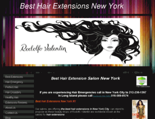 besthairextensionsnewyork.com screenshot