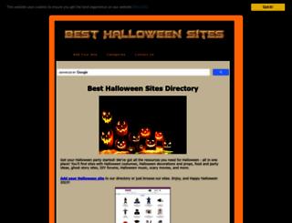 besthalloweensites.net screenshot