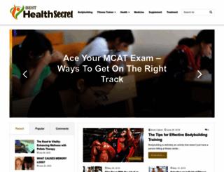 besthealthsecret.com screenshot