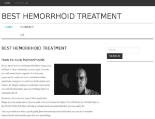 besthemorrhoidtreatment.org screenshot