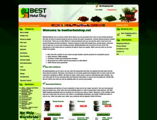 bestherbalshop.net screenshot