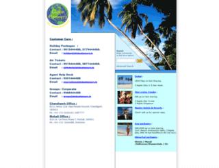 bestholidays.co.in screenshot