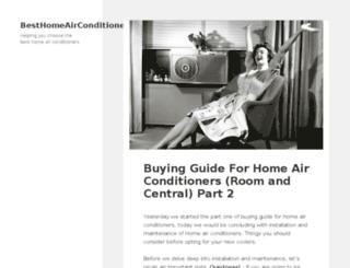 besthomeairconditioners.com screenshot