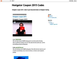 besthostgatorcoupon2015.blogspot.com screenshot