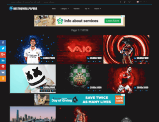 besthqwallpapers.com screenshot