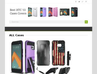 besthtc10case.com screenshot