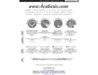 bestiario.com screenshot
