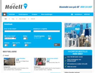 bestille.hotell.no screenshot